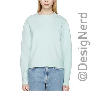 ACNE GALATEA PULLOVER PSS16 CANDY TURQUOISE GREEN